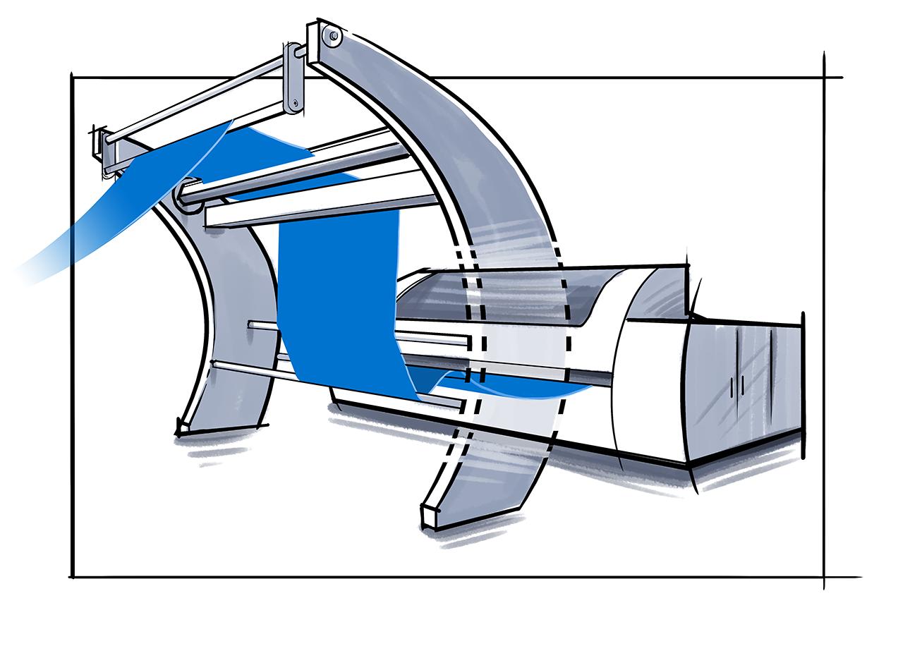 Open width compactor navis tubetex for Housse compactor avis